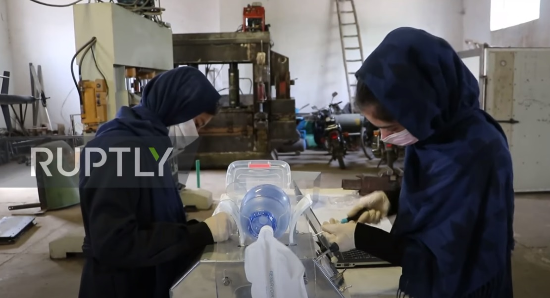 AFGHANISTAN, GIRLS, ROBOTICS