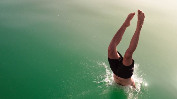 DIVE INTO THE WATER,