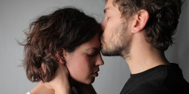 SAD, COUPLE, KISS