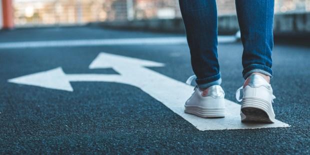 WALK, CHOICE, DIRECTION