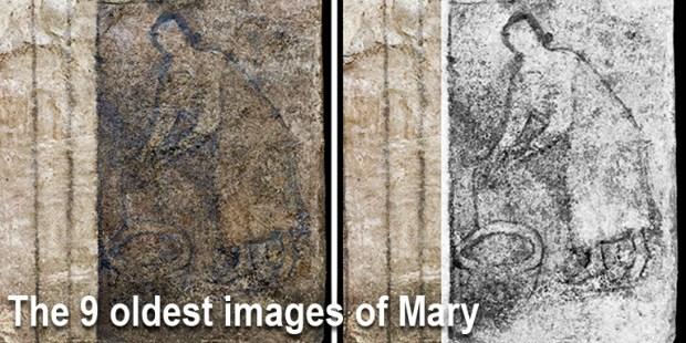 (FOTOGALLERY) Le 9 immagini più antiche della Vergine Maria