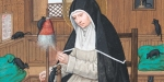 SAINT Gertrude de Nivelles