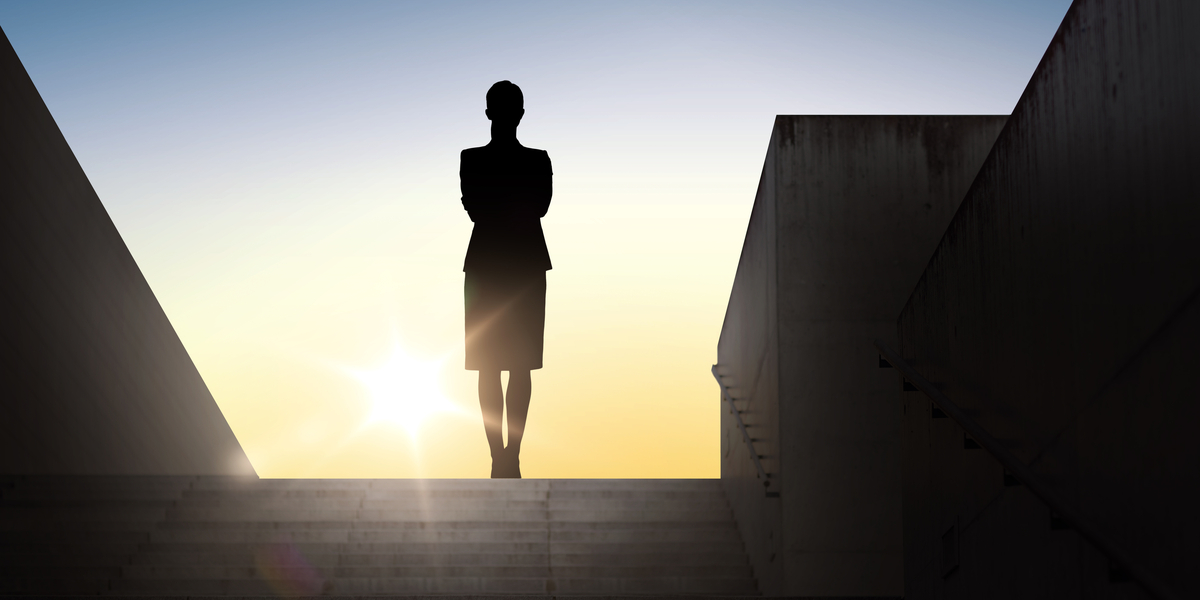 woman, success
