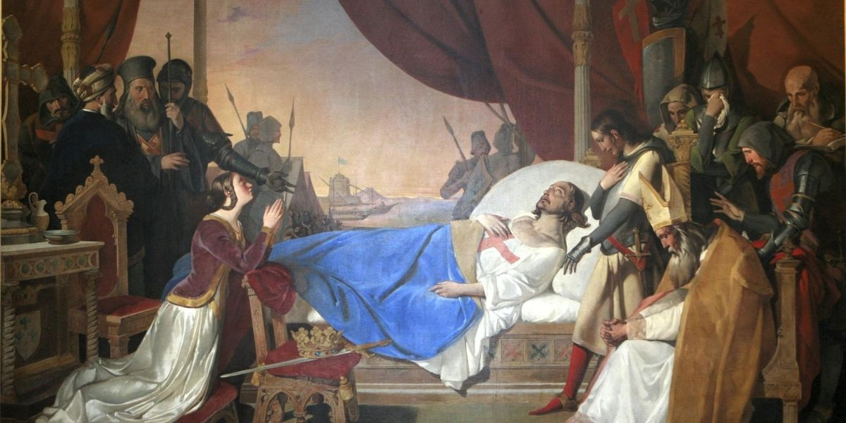 WEB2-SAINT LOUIS-LOUIS IX-DEATH-DOMAINE PUBLIC