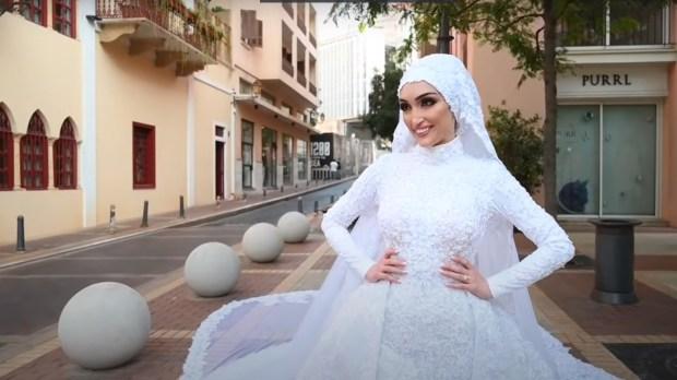 BRIDE, BEIRUT, EXPLOSION