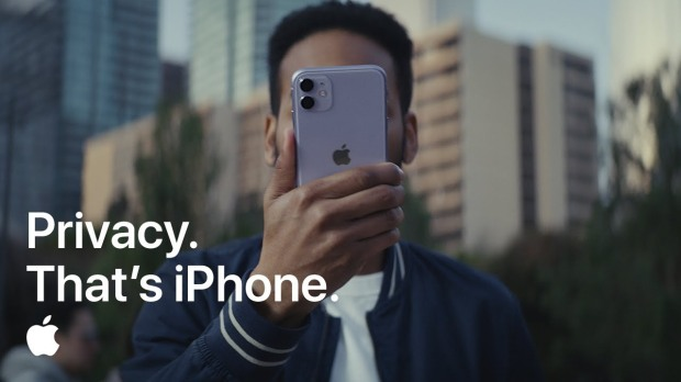 COMMERCIAL PRIVACY IPHONE APPLE