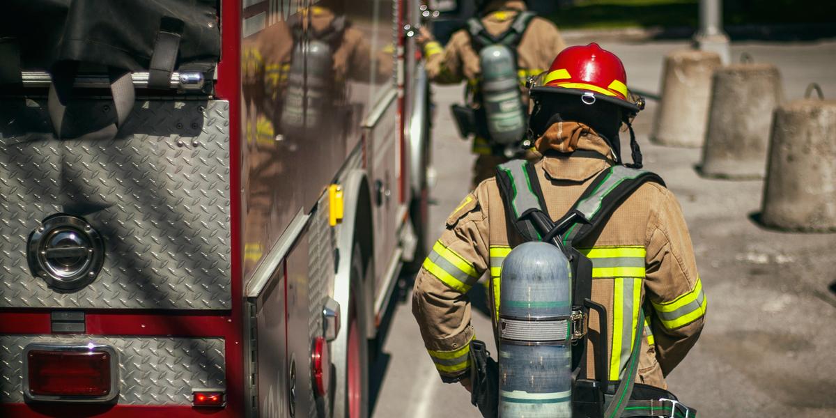 FIRE FIGHTER, EMERGENCY