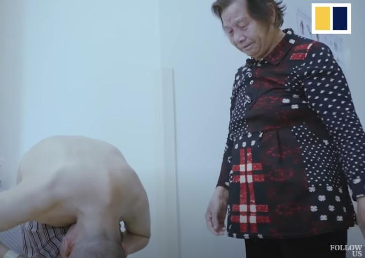 LI HUA, FOLDED MAN