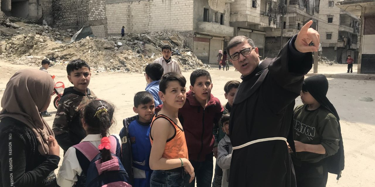 SYRIA; FRANCISCAN;FATHER LUFTI