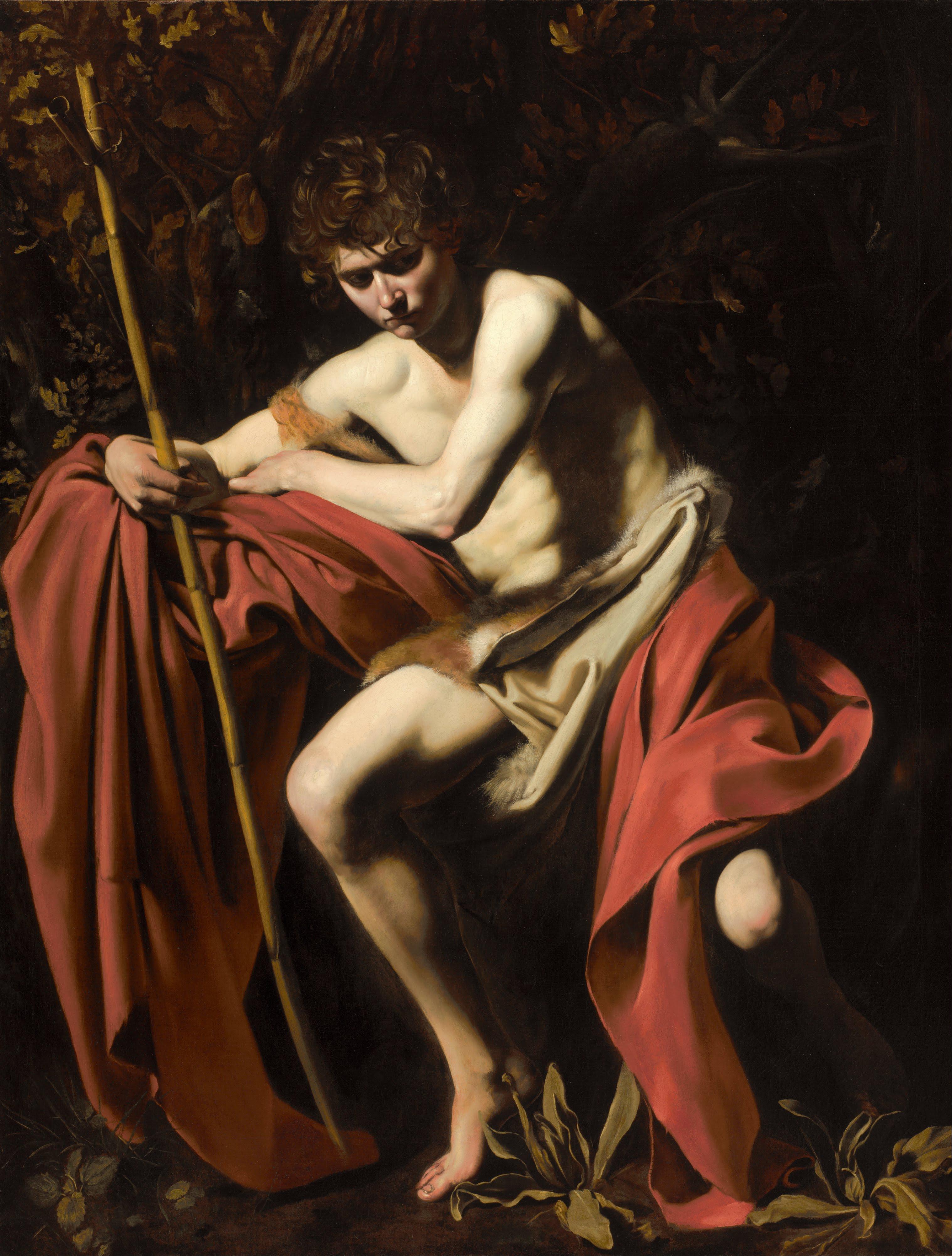 ST John the Baptist; CARAVAGGIO