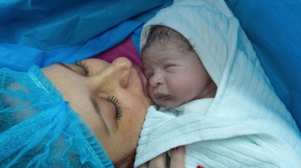 NEWBORN WITH MOTHER,