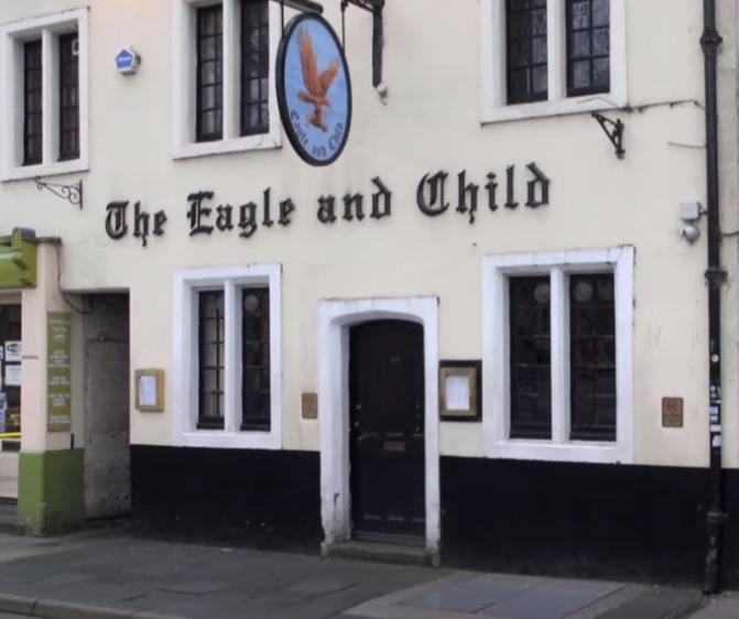 EAGLE, CHILD, PUB