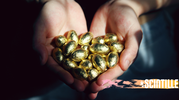 HANDS, GOLD, CHOCOLATE