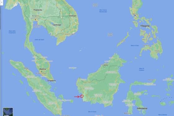 KETAPANG, INDONESIA, MAP