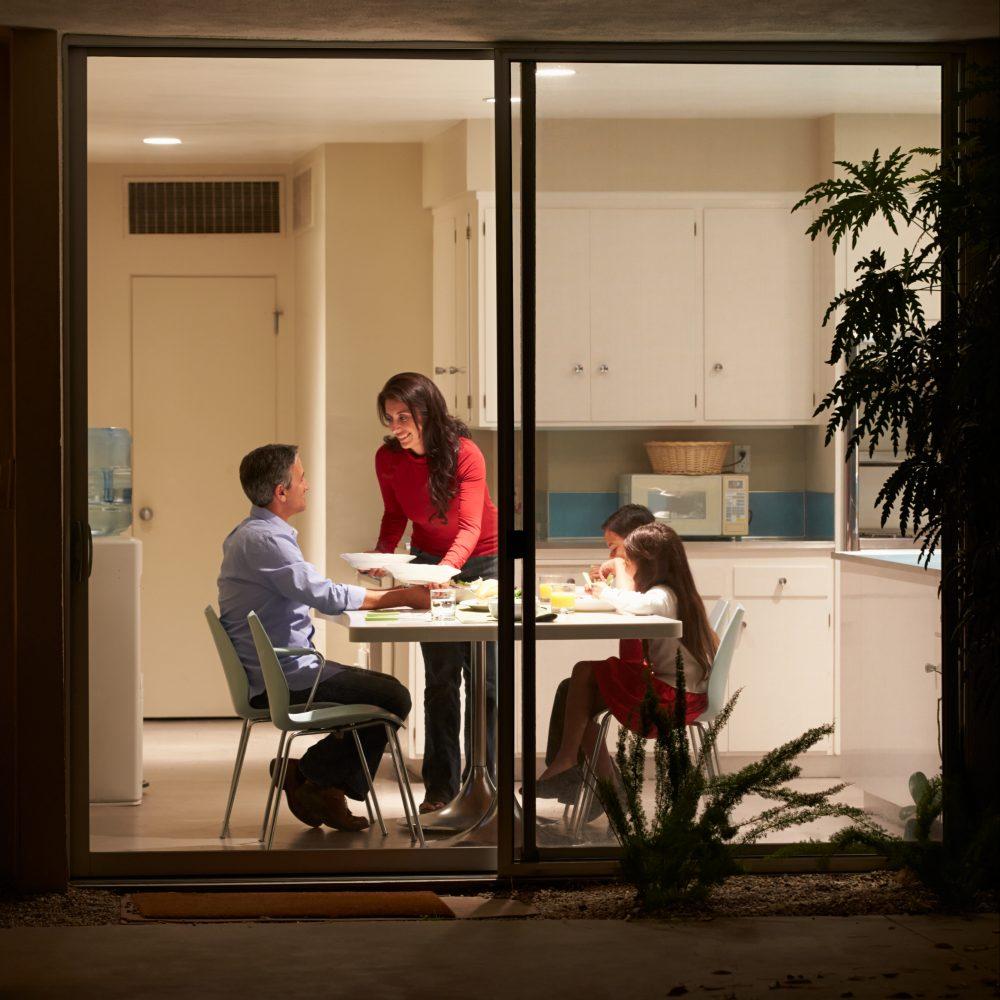 HOME, FAMILY, DINNER