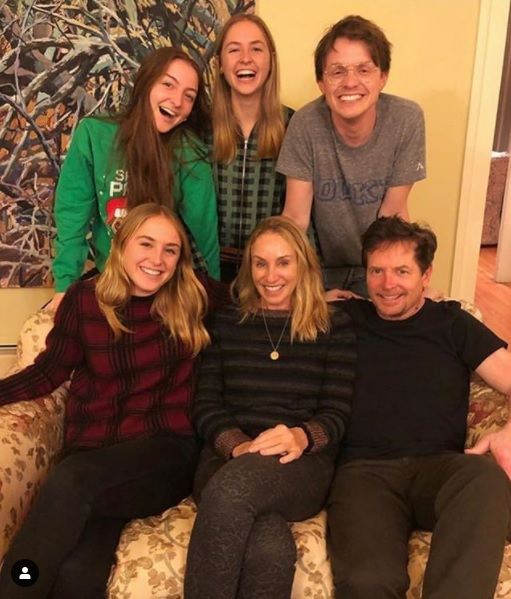 MICHAEL J FOX, FAMILY