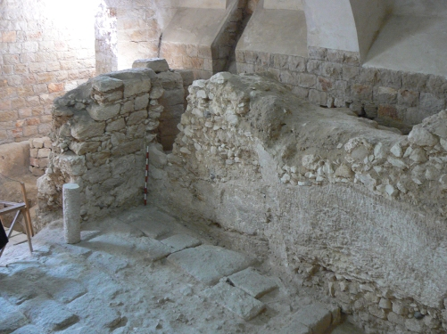 FIRST CENTURY HOUSE AT THE SISTERS OF NAZARETH SITE