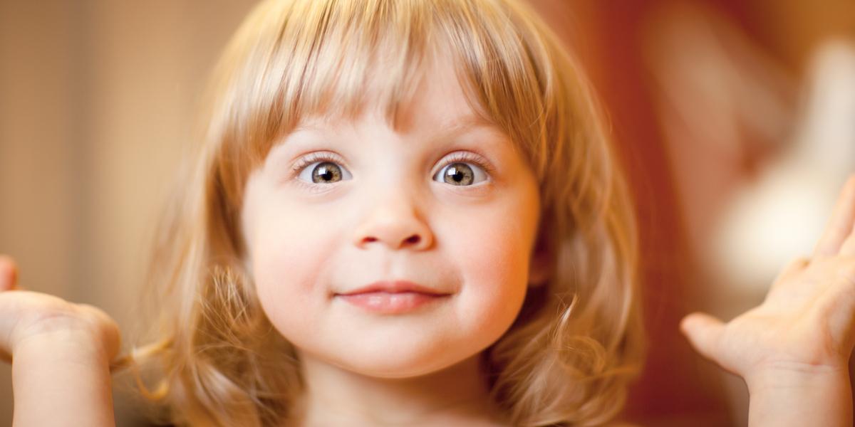 CHILD, SURPRISE, FACE