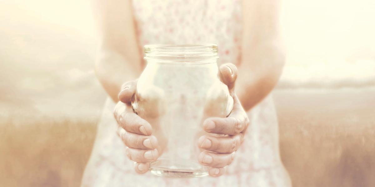 JAR, HANDS, EMPTY