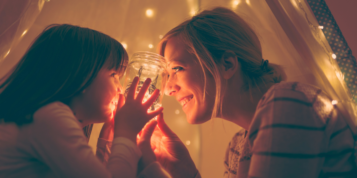 MOTHER, DAUGHTER, LIGHT