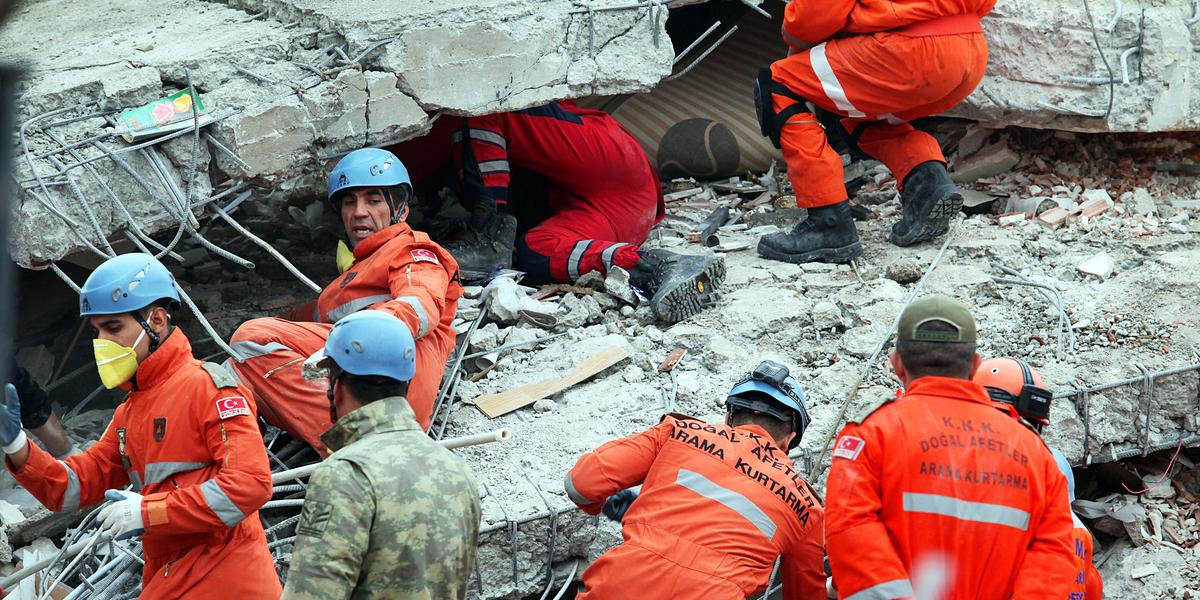 TURKISH, EARTHQUAKE