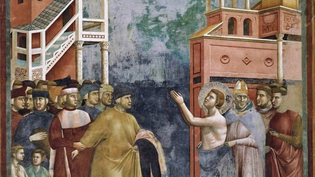 LEGEND OF ST. FRANCIS RENUNCIATION OF WORDLY GOODS