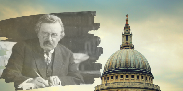 CHESTERTON, SAINT PAUL, COLLAGE