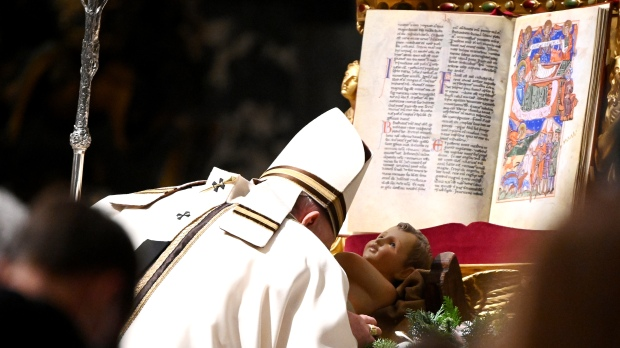 Pope Christmas