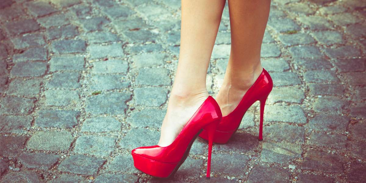 RED SHOES,