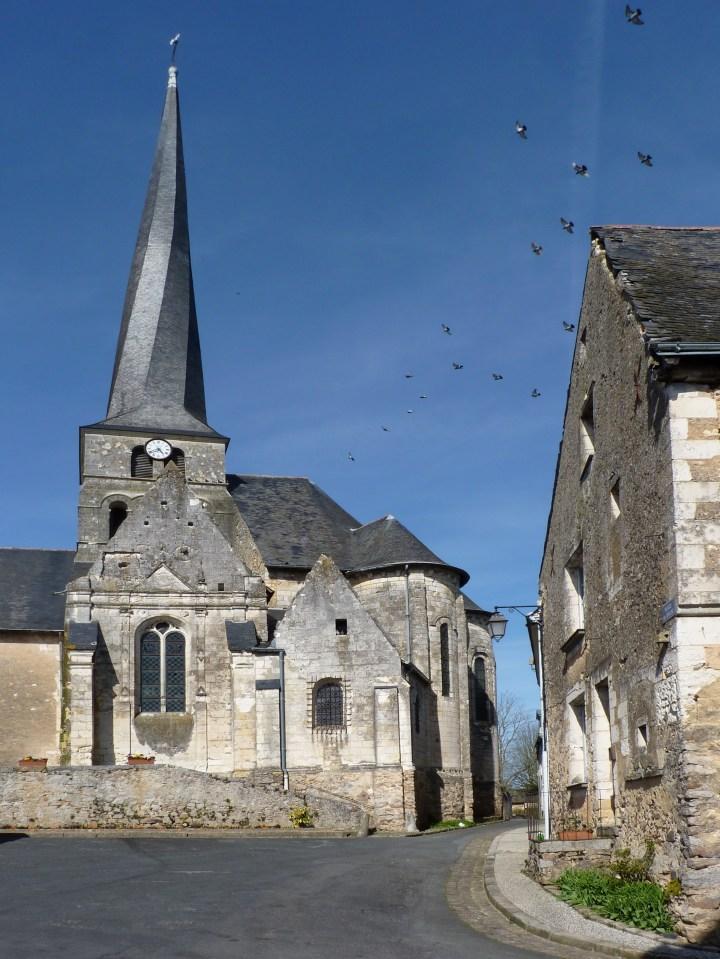 Eglise Saint-Symphorien du Vieil-Baugé (Maine-et-Loire)