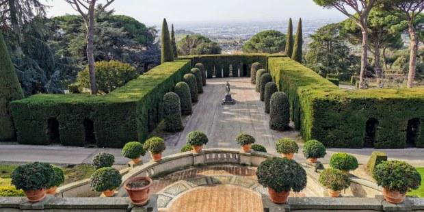 (FOTOGALLERY) I Giardini di Castel Gandolfo