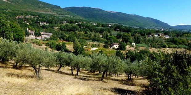 (FOTOGALLERY) Seguendo San Francesco nella valle di Spoleto