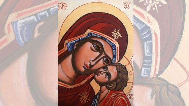 ICON, MARY, JESUS