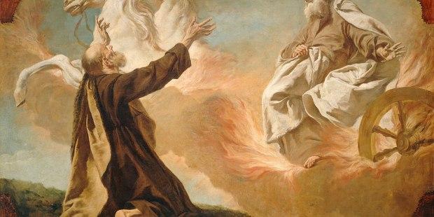 ELIJAH PROPHET PAINTING