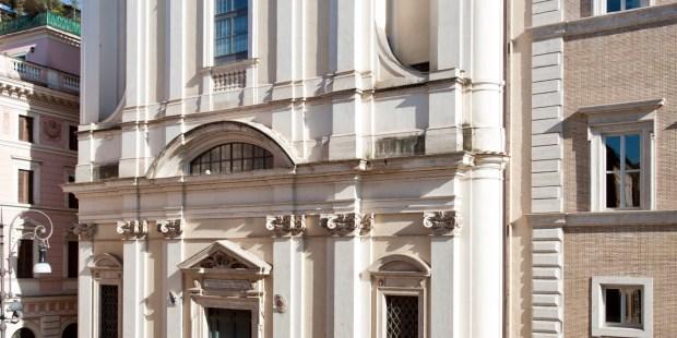 (FOTOGALLERY) Le foto della basilica di Sant'Apollinare in Campo Marzio