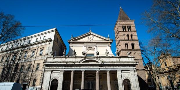 (FOTOGALLERY) Le foto della basilica di San Crisogono in Trastevere