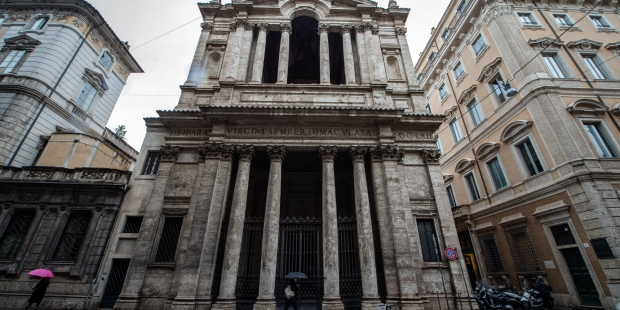 (FOTOGALLERY) Le foto della basilica di Santa Maria in Via Lata al Corso