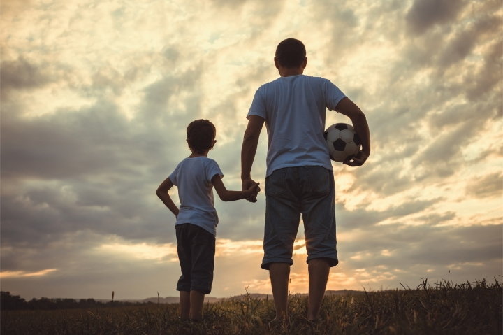 FATHER AND SON,