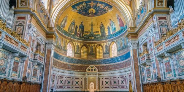 (FOTOGALLERY) I mosaici di San Giovanni in Laterano