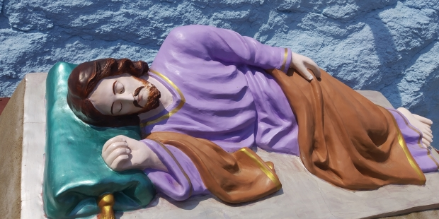 SAINT JOSEPH SLEEPING,