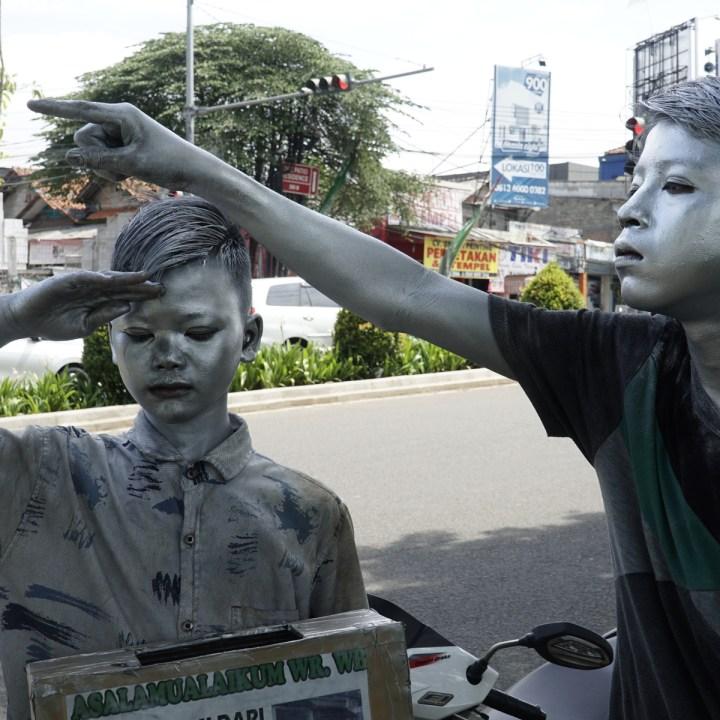 SILVER, CHILDREN, JAKARTA