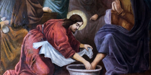 WASHING OF FEET,