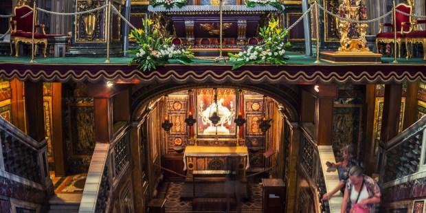 (FOTOGALLERY) Il presepe di Santa Maria Maggiore