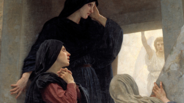 WOMAN, RESURRECTION, EASTER