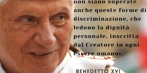 (FOTOGALLERY) Benedetto XVI sul mistero della donna