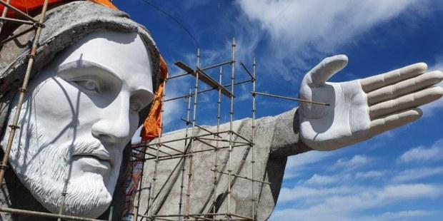 (FOTOGALLERY) Brasile: il Cristo gigante che incanterà il mondo intero