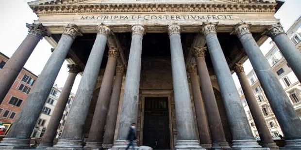 (FOTOGALLERY) Le foto della basilica di S. Maria ad martyres (Pantheon)