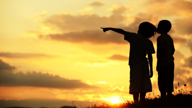 KIDS, FUTURE, SUNSET