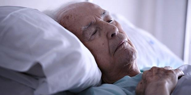 OLD MAN, HOSPITAL