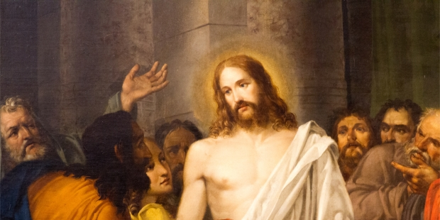 PAINTING OF RESURRECTED JESUS CHRIST,